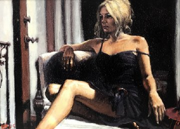 Red Hat AP 2007 Limited Edition Print by Fabian Perez