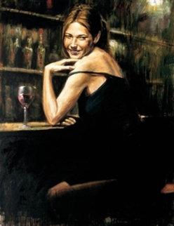 Naomi 48x36 Original Painting - Fabian Perez
