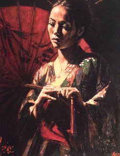 Michiko AP  Limited Edition Print by Fabian Perez