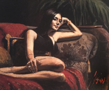 Diamante II AP Limited Edition Print - Fabian Perez