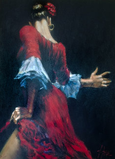 Flamenco Dancer III Limited Edition Print - Fabian Perez