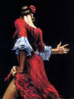 Flamenco III 2005 Limited Edition Print - Fabian Perez