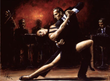 Tango IV 2004 Limited Edition Print by Fabian Perez