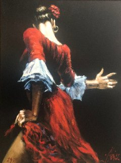 Flamenco Dancer III 2002 Limited Edition Print - Fabian Perez