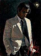 Marcus VIII 2012 21x18 Original Painting by Fabian Perez - 0