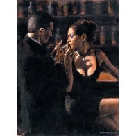 When the Story Begins 42x52 Huge Original Painting by Fabian Perez - 3