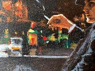 Whiskey At Las Brujas V 22x25 Original Painting by Fabian Perez - 2