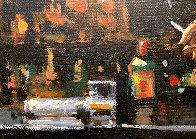 Whiskey At Las Brujas V 22x25 Original Painting by Fabian Perez - 3