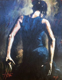 Flamenco II 2002 PP Embellished Limited Edition Print - Fabian Perez