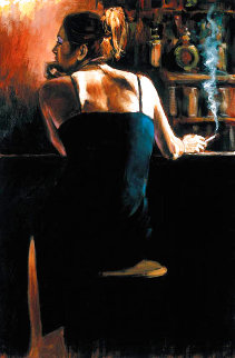 Waiting For a Drink Limited Edition Print - Fabian Perez