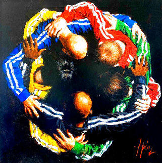 Five Continents One World HC Limited Edition Print - Fabian Perez