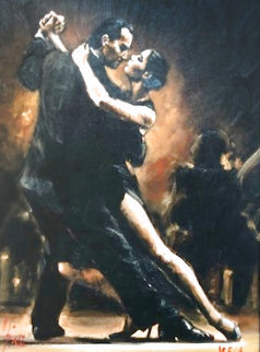 Study For Tango II Limited Edition Print - Fabian Perez
