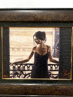 Luciana At the Balcony AP Limited Edition Print by Fabian Perez - 2