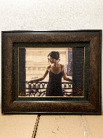 Luciana At the Balcony AP Limited Edition Print by Fabian Perez - 1