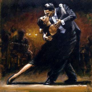 Study For Tango V AP Limited Edition Print - Fabian Perez