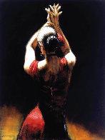 Flamenco Dancer 2002 AP Limited Edition Print by Fabian Perez - 0