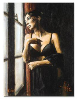 At the Window  Limited Edition Print by Fabian Perez