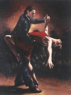 Tango VII  AP 2007  Limited Edition Print - Fabian Perez