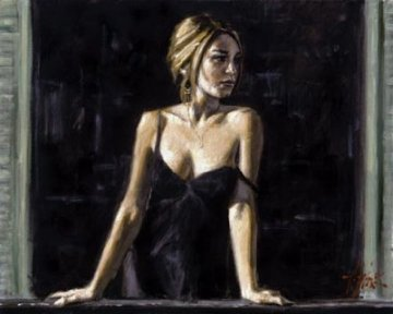 Balcony in  Buenos Aires V  AP  Limited Edition Print by Fabian Perez