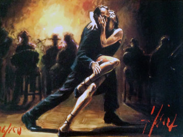 Tango 2004  Limited Edition Print by Fabian Perez