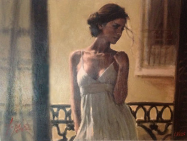 Balcony At  Buenos Aires XI 2006 Limited Edition Print by Fabian Perez