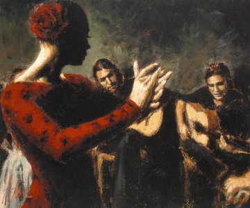 Study For Flamenco (V) AP 2006  Limited Edition Print by Fabian Perez