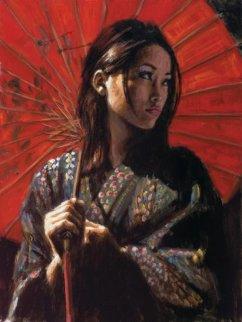 Michiko 2 2006  Limited Edition Print by Fabian Perez