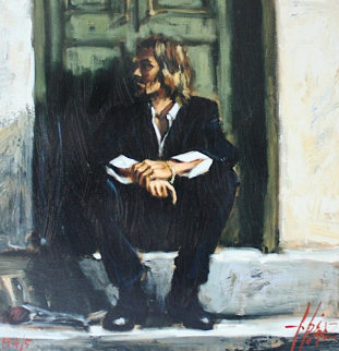 Waiting For the Romance to Come Back PP  Limited Edition Print by Fabian Perez