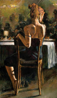 Cynzia At Las Brujas Embellished Limited Edition Print - Fabian Perez