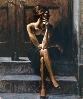 Black Purse AP 2005  Limited Edition Print - Fabian Perez