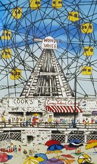 Wonder Wheel 1990 Limited Edition Print by Linnea Pergola