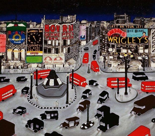 London 1943 Limited Edition Print by Linnea Pergola