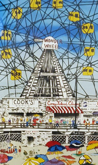 Wonder Wheel 1990 Limited Edition Print by Linnea Pergola