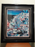 Sunset Over Sunset 1991 Hollywood Ca 1992 Limited Edition Print by Linnea Pergola - 1