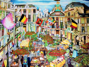 Birds in Brussels 2012  Limited Edition Print by Linnea Pergola