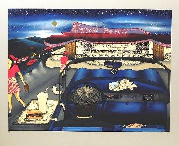 Pete's Burger 1991 Limited Edition Print by Linnea Pergola