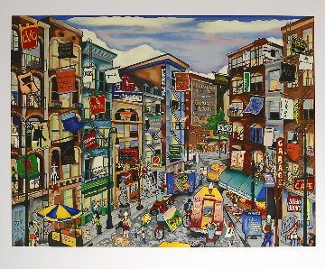 Soho Sights 1997 Limited Edition Print - Linnea Pergola