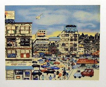 Urban Race 1990 Limited Edition Print by Linnea Pergola