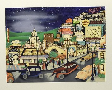 Hollywood in the 30s 1990 Limited Edition Print - Linnea Pergola
