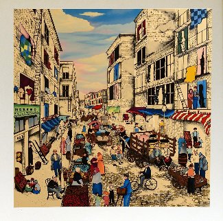 Mulberry Street 1996 Limited Edition Print by Linnea Pergola
