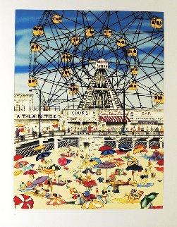 Wonder Wheel 1990 Limited Edition Print - Linnea Pergola