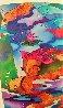 Frolicking Koi Fish 2009 Limited Edition Print by Linnea Pergola - 2