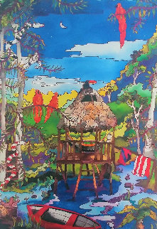 Moonlight in the Amazon 2009 Limited Edition Print - Linnea Pergola