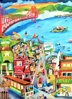 Day in San Francisco Limited Edition Print by Linnea Pergola