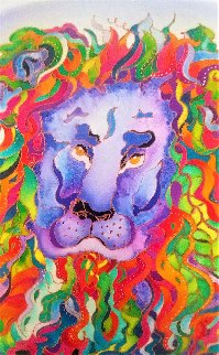 Lion Heart Limited Edition Print by Linnea Pergola