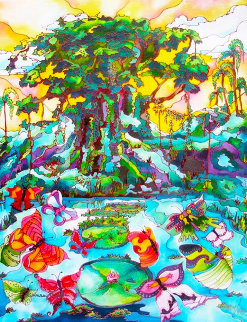 Butterfly Cove II 2009 Limited Edition Print by Linnea Pergola