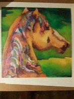 Stallion 2009 Limited Edition Print by Linnea Pergola - 1
