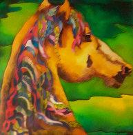 Stallion 2009 Limited Edition Print by Linnea Pergola - 0
