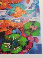Frolicking Koi Fish 2009 Limited Edition Print by Linnea Pergola - 7