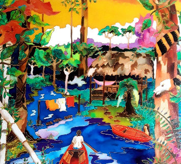 Swamp Hut Limited Edition Print - Linnea Pergola